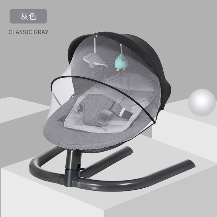 Newborn Baby Rocking Chair Baby Bed Swing Soothing Music Chair Non electric Manual Swing Shaker Infant Newborn Baby Rocking Chair Baby Bed Swing Soothing Music Chair Non-electric Manual Swing Shaker Infant Cradle