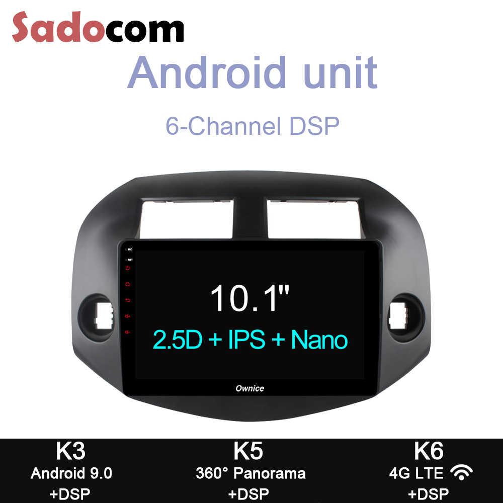 """DSP 10.1 """"RAM 4GB DVD Xe Hơi 4G LTE GPS Bluetooth Đài Phát Thanh OBD Đầu Ghi Hình TPMS Android 8.1 dành Cho Xe Toyota RAV4 2007 2008 2009 2010 2011"""