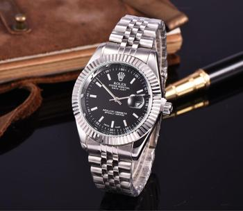 A016 NEW Hot high quality Rolex Mens Womens Quartz Watch Fashion Gift Gold Casual Waterproof Watches