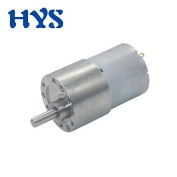 Mini engranaje de Motor de 12 V 24 voltios, reductor eléctrico de CC 12 V 24 V, controlador de Micro motores de 12-1600rpm, engranaje de JGB37-3530 de velocidad ajustable
