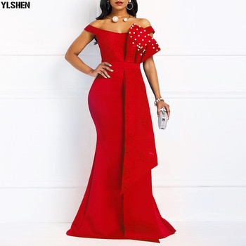 Mermaid Evening Party Dress African Dresses for Women Fashion Long Maxi Africa Dress African Clothes Robe Africaine Femme 2019 1