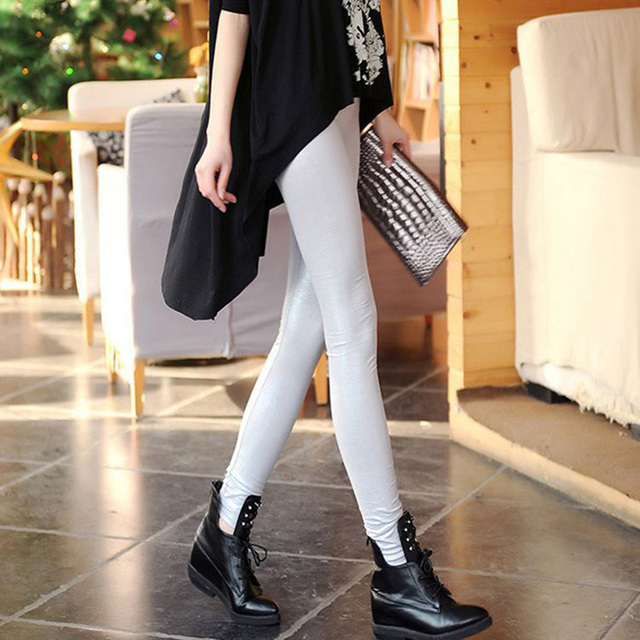 High Quality Leather Legging With Snake Patterns 10