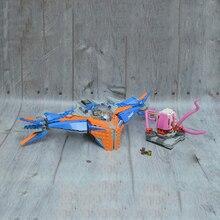 Bela 10748 Super Heroes Guardians of The Galaxy Building Block Milano vs Abilisk modello Brick Toy compatibile 76081