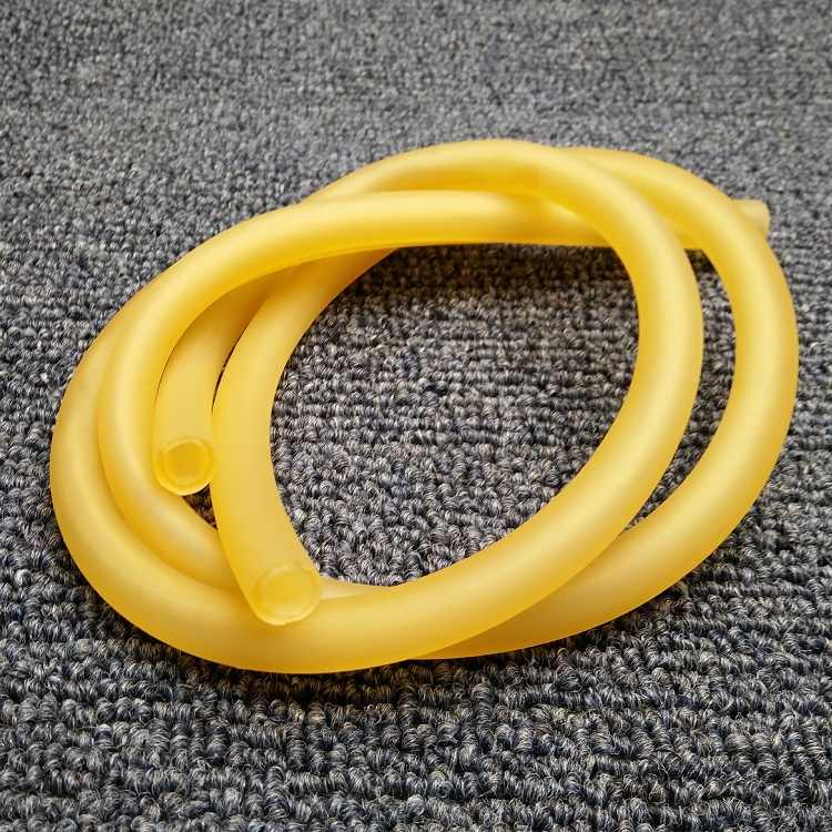 מזהה 1.6mm x 3.2mm OD טבע לטקס גומי צינורות גמיש צינור עמיד גבוה אלסטי כירורגי רפואי צינור רך הקלע בליסטרא