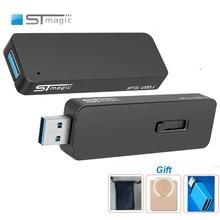 Stmagic SPT31 מתכת SSD USB דיסק און קי Usb 3.1 pendrive חיצוני מצב מוצק דיסק 128gb 256gb 512gb 1TB זיכרון מקל
