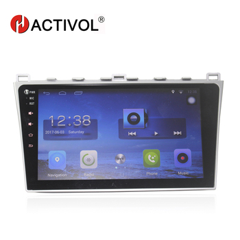 HACTIVOL 10.2 Quad core car radio gps navigation for MAZDA 6 2008-2010 android 7.0 car DVD video player with 1G RAM 16G ROM