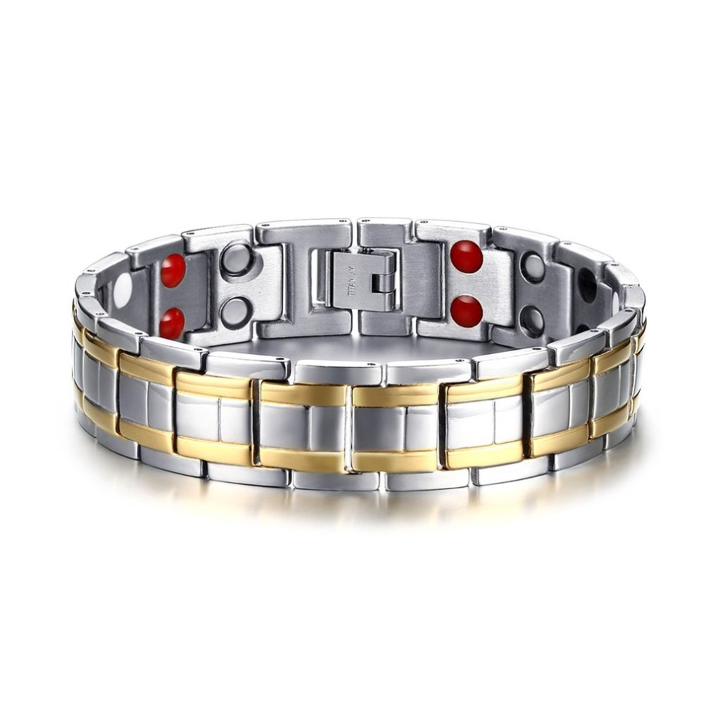 Popular Magnetic Health Care Chain Bracelet Trendy Charming Fashionable Jewelry Man Woman Link Chain Ornaments All-match Style