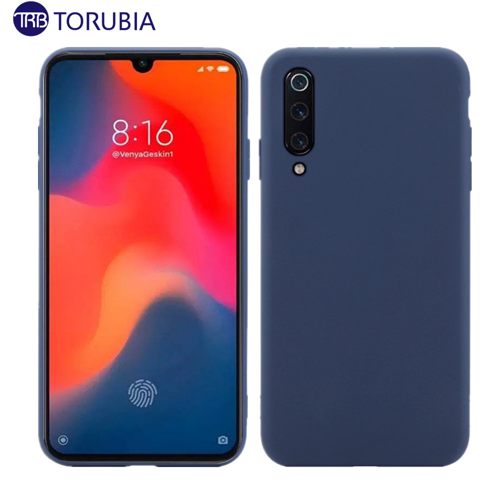 For Xiaomi Mi 9 Mi 9 SE Case Slim Candy Color Anti-Scratch Matte Soft TPU Cover for Xiaomi Mi9 Mi 9T Redmi Note 7 Case Silicone