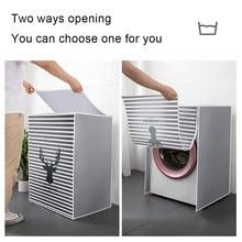 Housse de protection pour Machine à laver, pour Machine à laver à tambour, étanche, anti-poussière, pour Machine à laver automatique, domestique