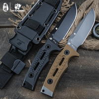 HX OUTDOORS Straight Blade Knife Knifes D2 stainless steel Survival Hunting Camping Outdoor tool Rock X 2019 new ROCK