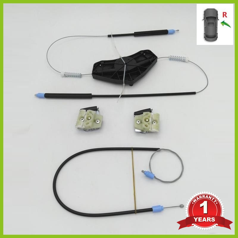 For VW Passat B6 3C 2006 2007 2008 2009 2010 2011 Car-Styling New Electric Window Regulator Repair Kit Front Right Side