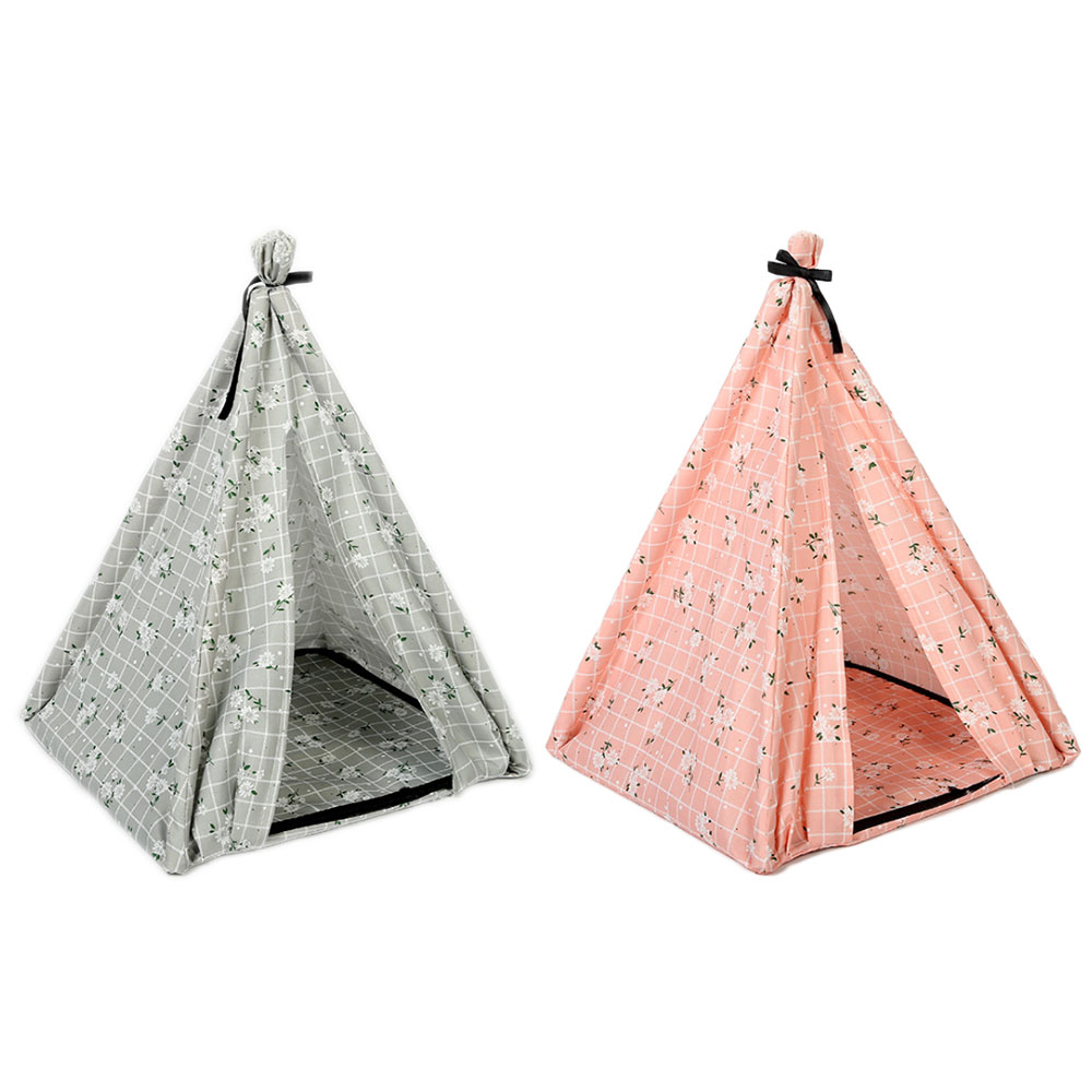 Pet House Tent Shaped Pet Cozy House Cat Home Small Dog Cat Foldable Bed Cat House Puppy Kitten Bed Animals Home Products 4