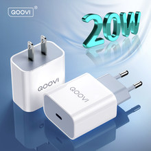 20w pd carregador de carga rápida 4.0 3.0 usb tipo c adaptador parede qc telefone carregamento rápido para iphone 12 pro max mini 11 8 huawei xiaomi