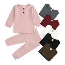 Underwear Girls Spring for Boys And Pajamas-Set 1008/28 of Autumn Baby Korean-Version