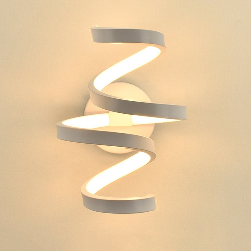 LED Wall Lamps Nordic Style Bedroom LED Wall Lights Living Room Wall Lighting Indoor Lamps Warm White Light And Cold White Light