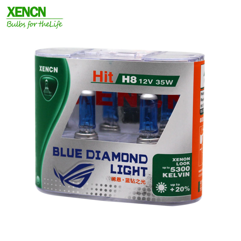 XENCN H8 12V 35W 5300K Emark Μπλε διαμάντι ελαφρύ - Φώτα αυτοκινήτων - Φωτογραφία 1