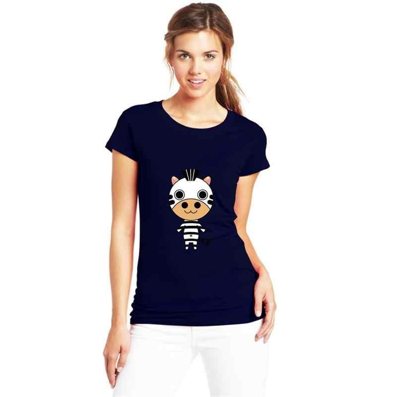 การ์ตูนยืน ZEBRA T เสื้อ XXXL 4Xl 33XL ที่มีชื่อเสียง Mens แฟชั่น Super Gents tshirts