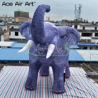 inflatable elephant for advertising giant inflatable elephant balloon toys inflatable elephant replica for events