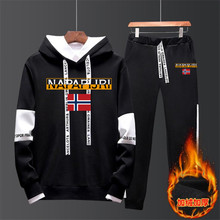 tracksuit men Fashion Men Hoodies Suits