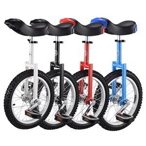 ОДНОКОЛЕСНЫЙ Моноцикл для взрослых и детей, Забавный Балансирующий велосипед для акробатических трюков, Одноколесный Балансирующий велос...