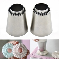 Baking Supplies Set Ruffle Piping Nozzles Skirt Icing Set Russian Piping Tips Set