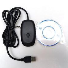 WiFi usb-радиоприемник игровой контроллер адаптер для microsoft 360 PC беспроводной ПК USB 2,0 приемник