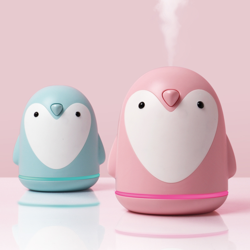 220ml Aroma Humidifier Cute Penguin USB Air Diffuser For Home Office Car Mist Maker Essential Oil Diffuser|Humidifiers| |  - title=