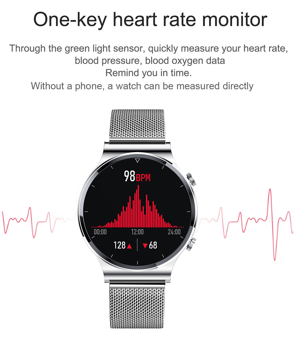 H4b176a02c8fb48cfba69ed7e9e82d5943 LIGE New Smart watch Men Heart rate Blood pressure Full touch screen sports Fitness watch Bluetooth for Android iOS smart watch
