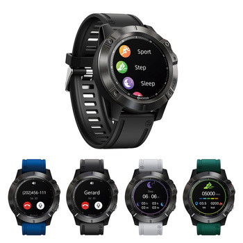 1.3 inch IPS Smart Watch Fitness Tracker Fashionable Color Touch Screen IP67 Dial Wristwatch Present for Zeblaze VIBE 6