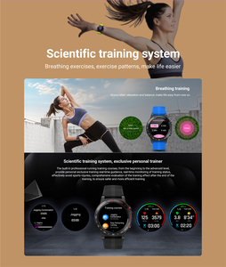 Image 5 - 2019 新 senbono M5 スマートウォッチ防水ウェアラブル bluetooth 電話通話 gps スマートウォッチ電話の男性女性心拍数モニター時計
