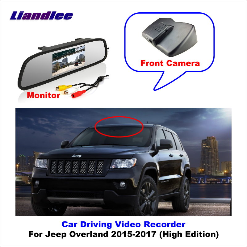 Liandlee Car DVR Wifi Video Recorder Dash Cam Camera For Jeep Overland 2015-2017 (High Edition) Night Vision APP image