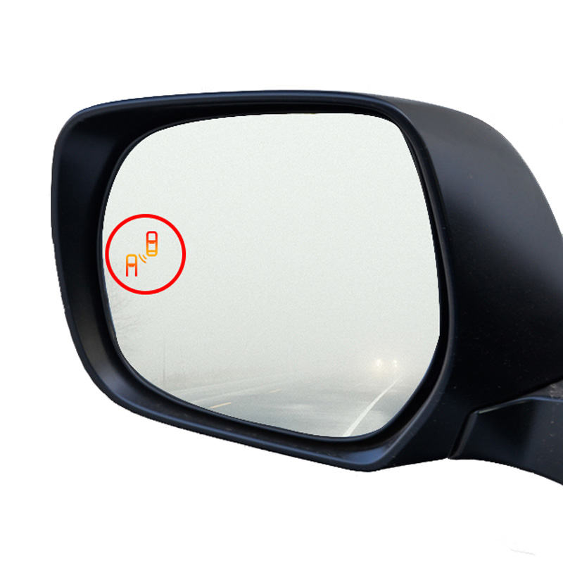 Sensor de Radar Anticolisión de aparcamiento Sistema de Monitoreo de punto ciego espejo lateral asistencia de vidrio BSD para Toyota land cruiser prado - 2