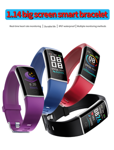 Image 3 - Z9 Smart Fitness Bracelet with Pressure Measurement Health Bracelet 5 in 1 Wristband Tracker Pedometer Heart Rate Monitor Band