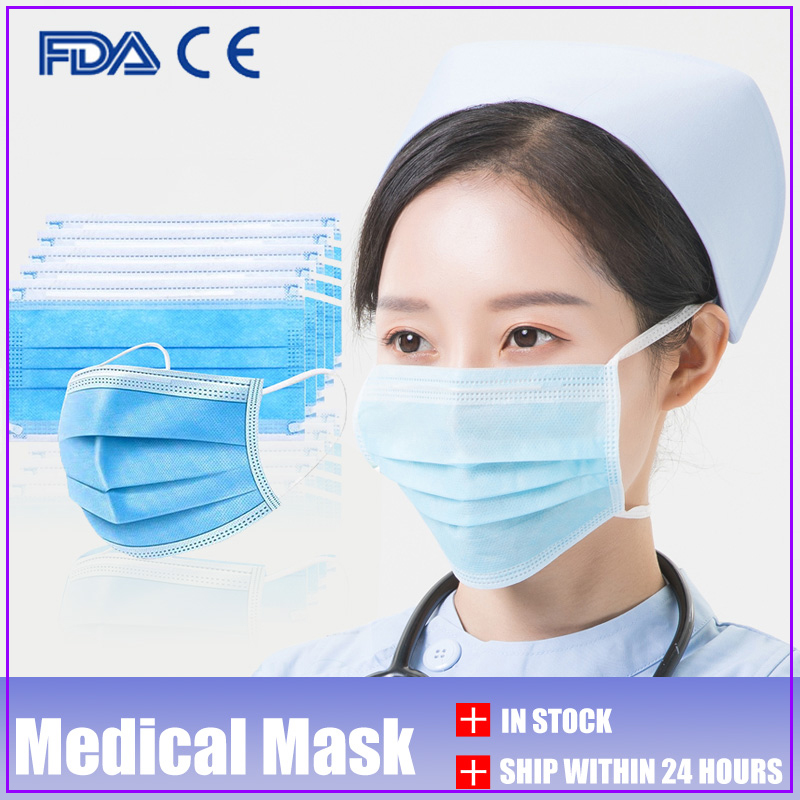 Одноразовые маски 50 100 200 шт, 3 слоя маски для лица, мужские маски, 3 слоя маски, защитные маски для рта, противопыльные маски, фильтр #1020304