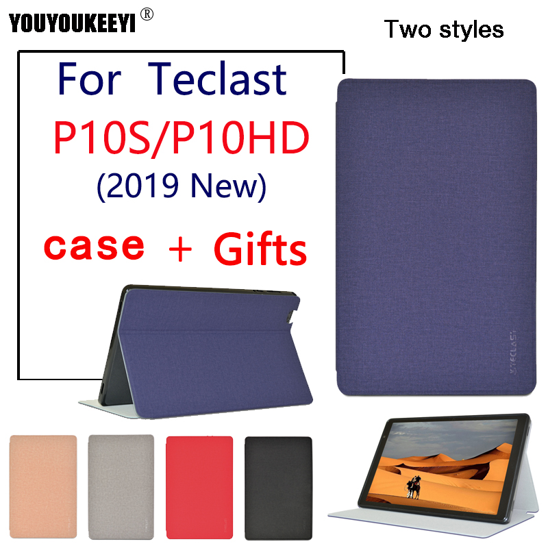 Case For Teclast P10S 2019 Tablet ,Stand Cover Fall Protector Case For Teclast P10HD 10.1 Inch Tablet PC Protective Cover + Gift