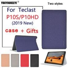 Funda protectora para tableta Teclast P10S 2019, cubierta de soporte de caída para teclast P10HD 10,1 pulgadas, funda protectora de tableta PC + regalo