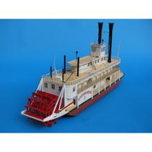 Paper Open steamer steamship Model Toys Handmade DIY creative show props tide Collection Military Gift