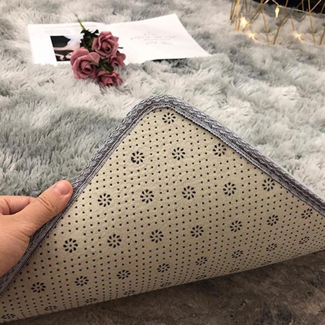 Bedroom Carpets Modern Art Living Room Carpets Home Nordic Bedroom Bedside Blanket Area Rug Large Soft Study Room Floor 4