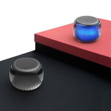 New Xiaomi Velev TWS Bluetooth Speaker Lighting Portable Music Rhythm Surround Sound Colourful Lighting Mini Audio(China)