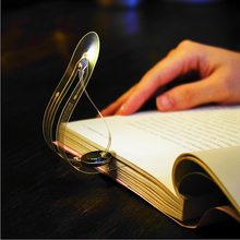 Reading Bookmark Light Creative LED Night Light Bent Folding Portable Clip Book Light Glowing