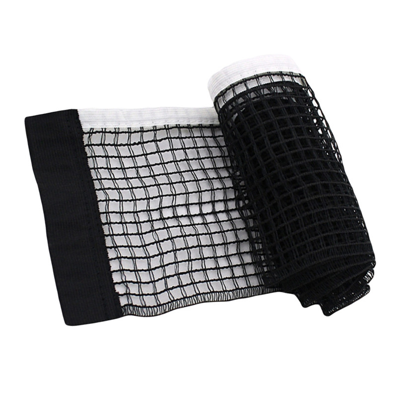 Fitness Table Tennis Net Set Iron Stand Flexible Net Steel Sports Ping Pong Net With Clamp Post