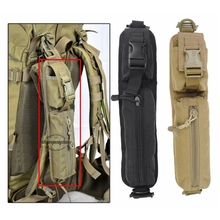 Backpack Shoulder Strap Sundries Bags Molle Design Waterproof Tactical Rucksack Protable Shoulder Pouch Key Flashlight Pouches