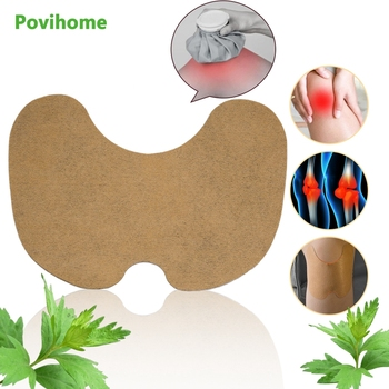 12pcs Knee Medical Plaster Wormwood Extract Knee Joint Ache Pain Relieving Sticker Knee Rheumatoid Arthritis Body Patch D1802