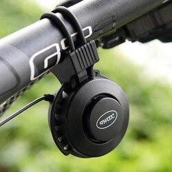 À prova dusb água usb bicicleta elétrica chifre da bicicleta guiador anel sino volume ajustável cabeça de alarme sinos acessórios #40
