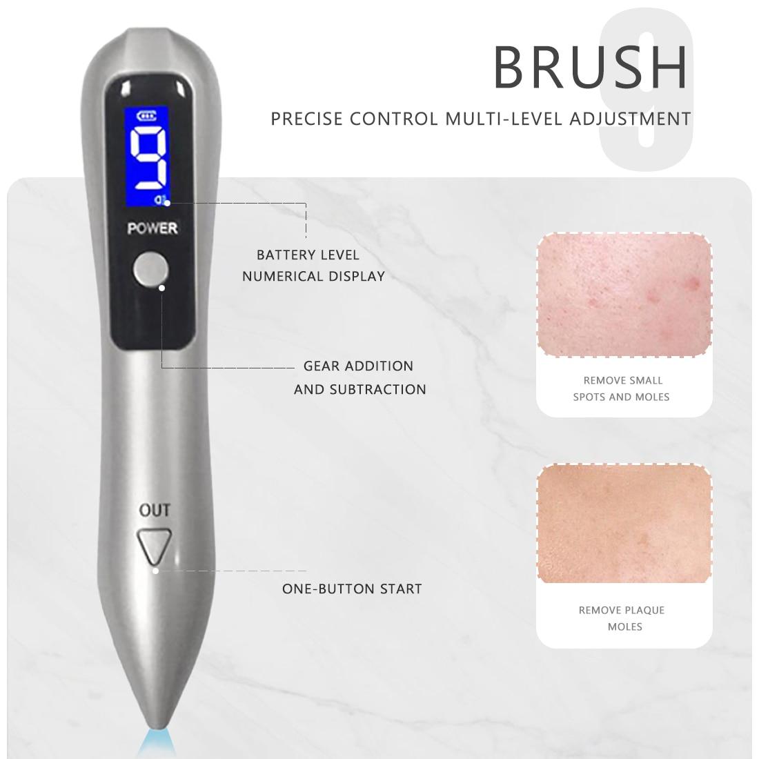 9 nível laser caneta remoção de toupeira