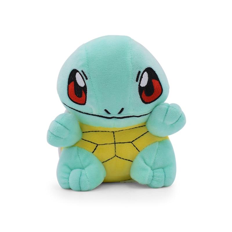 2017 משלוח חינם קטן בפלאש Squirtle Zenigame צעצועי תחביבים בובות ממולא צעצועי חיות פרווה בפלאש ממולא בפלאש בעלי חיים