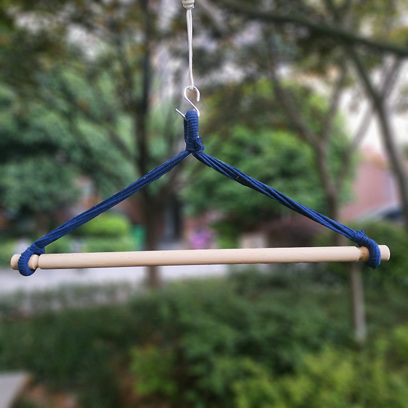 Newest Wooden Stand For Camping Hammock Wood Sticks For Hanging Chaing Swing Not Include Hammock And Pillows 80cm