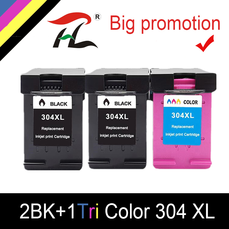 YLC <font><b>Ink</b></font> <font><b>Cartridge</b></font> 304XL new version for hp304 <font><b>hp</b></font> 304 xl deskjet envy <font><b>2620</b></font> 2630 2632 5030 5020 5032 3720 3730 5010 printer image