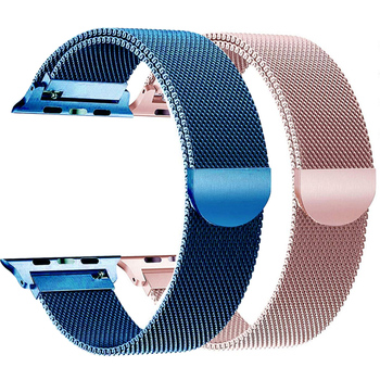 Stainless Steel band for Apple watch 38mm 42mm Milanese Loop bracelet Magnetic Clasp Strap 40mm 44mm for iWatch series 5 4 3 2 1 stainless steel watch band 26mm for garmin fenix 3 hr butterfly clasp strap wrist loop belt bracelet silver spring bar
