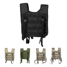 600D Oxford Hunting Webbing Molle Chest Rig Paintball Harness Vest Belt Support Tactical Vest Harness